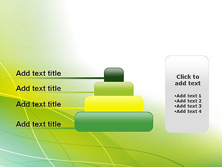 Green Abstract Grass PowerPoint Template Slide 8