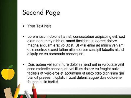 Preparing for School PowerPoint Template Slide 2