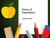 Education & Training: Preparing for School PowerPoint Template #13488