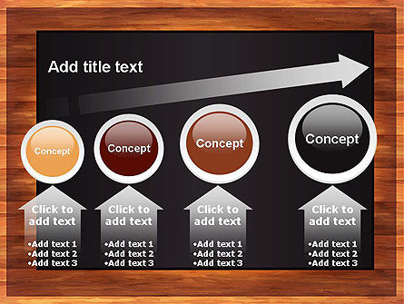 Blackboard Wooden Menu PowerPoint Template Slide 13