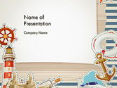 Careers/Industry: Nautical Theme PowerPoint Template #13491
