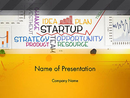 Business Concepts: Plantilla de PowerPoint - plan de inicio #13492