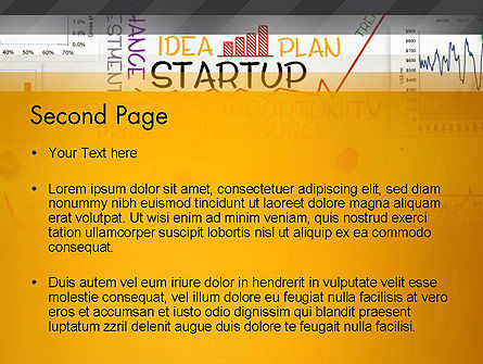 Startup Plan PowerPoint Template Slide 2