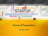 Business Concepts: Startup Plan PowerPoint Template #13492
