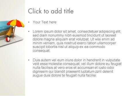 Online Booking PowerPoint Template, Slide 3, 13494, Careers/Industry — PoweredTemplate.com