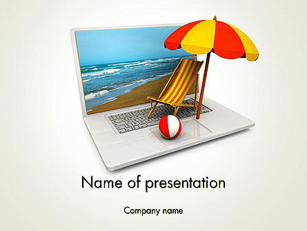 Careers/Industry: Online Booking PowerPoint Template #13494