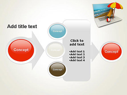 Online Booking PowerPoint Template Slide 17