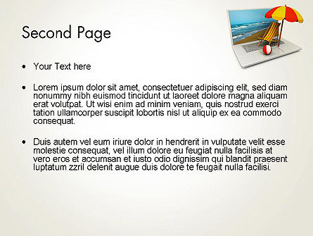 Online Booking PowerPoint Template Slide 2