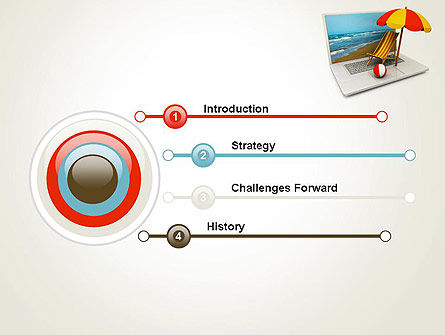 Online Booking PowerPoint Template Slide 3