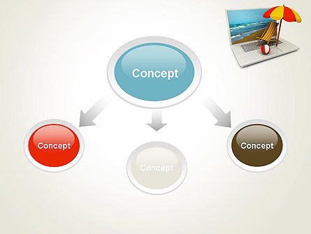 Online Booking PowerPoint Template Slide 4