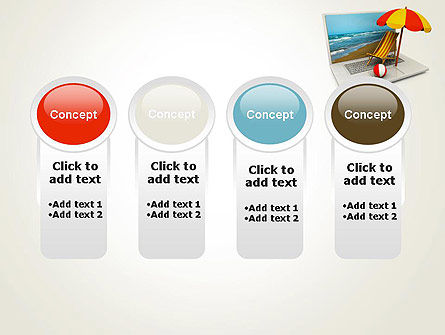 Online Booking PowerPoint Template Slide 5