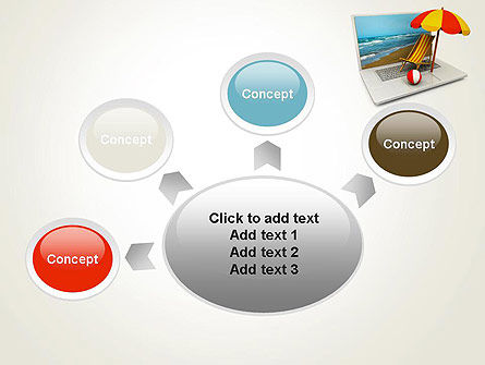 Online Booking PowerPoint Template Slide 7