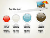 Online Booking PowerPoint Template#13