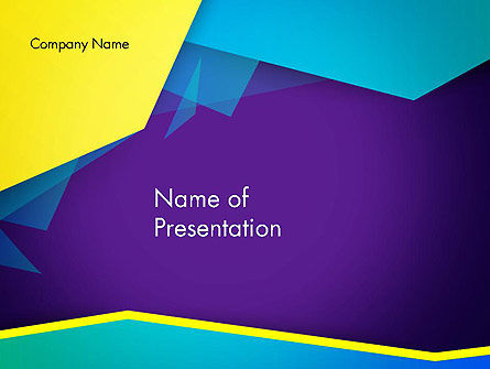 Abstract Cutted Edges PowerPoint Template