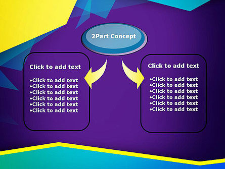 Abstract Cutted Edges PowerPoint Template Slide 4