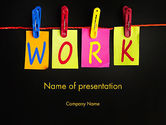 Education & Training: Work Planning PowerPoint Template #13496