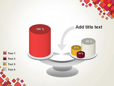 Multicolor Square Elements PowerPoint Template Slide 10