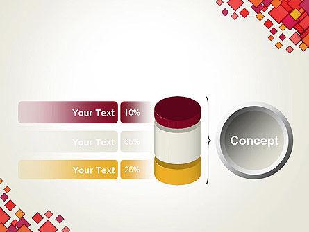 Multicolor Square Elements PowerPoint Template Slide 11