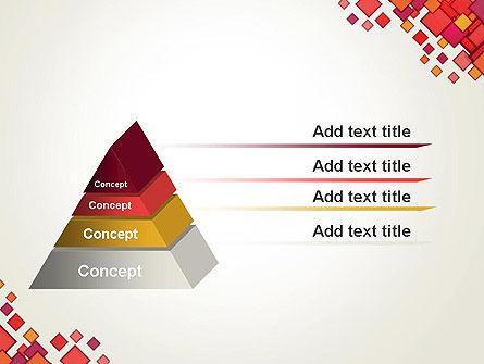 Multicolor Square Elements PowerPoint Template Slide 12
