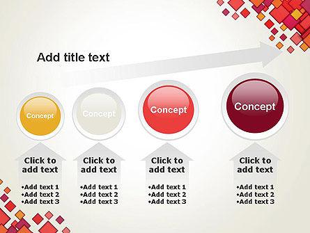 Multicolor Square Elements PowerPoint Template Slide 13