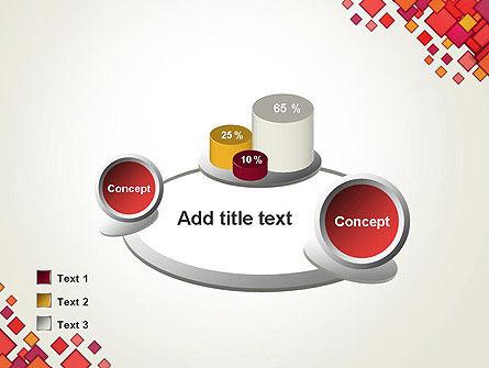 Multicolor Square Elements PowerPoint Template Slide 16