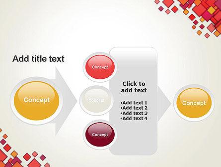 Multicolor Square Elements PowerPoint Template Slide 17