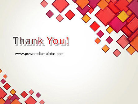 Multicolor Square Elements PowerPoint Template Slide 20