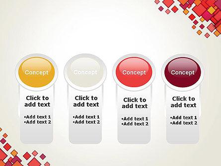 Multicolor Square Elements PowerPoint Template Slide 5