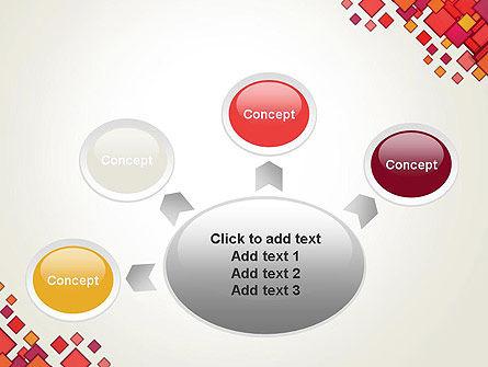 Multicolor Square Elements PowerPoint Template Slide 7
