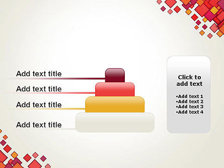 Multicolor Square Elements PowerPoint Template Slide 8