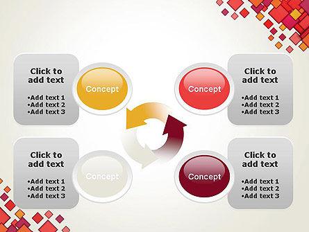 Multicolor Square Elements PowerPoint Template Slide 9