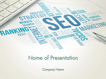 SEO Marketing PowerPoint Template