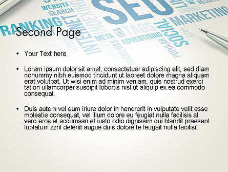 SEO Marketing PowerPoint Template Slide 2