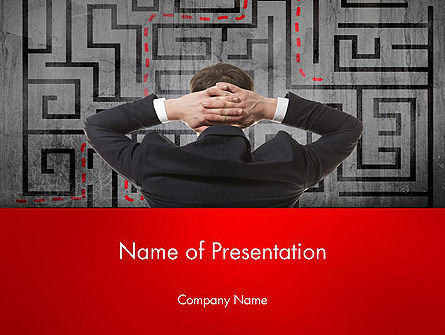Exit Strategy Concept PowerPoint Template, 13501, Consulting — PoweredTemplate.com