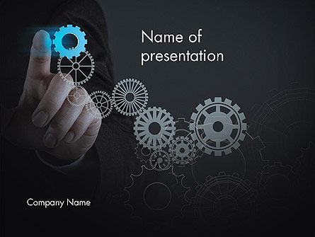 Project Launch Concept PowerPoint Template, 13504, Business Concepts — PoweredTemplate.com