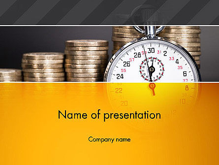 Financial/Accounting: Financial Benchmarking PowerPoint Template #13505