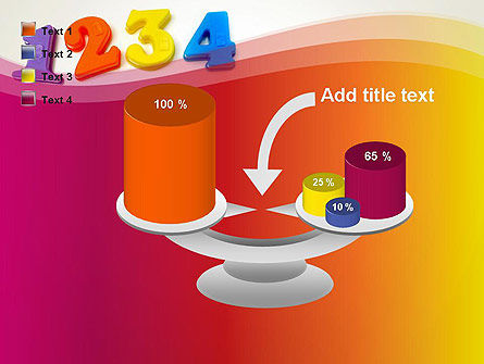 Teach Your Child Numbers PowerPoint Template Slide 10