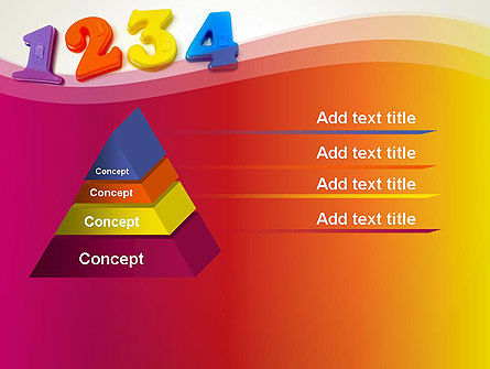 Teach Your Child Numbers PowerPoint Template Slide 12