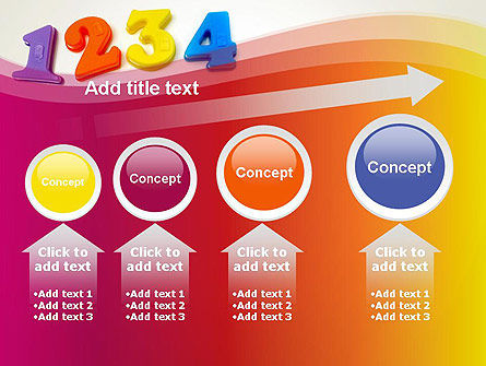 Teach Your Child Numbers PowerPoint Template Slide 13