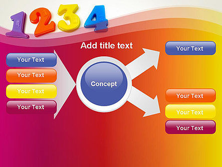 Teach Your Child Numbers PowerPoint Template Slide 14