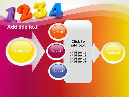 Teach Your Child Numbers PowerPoint Template Slide 17