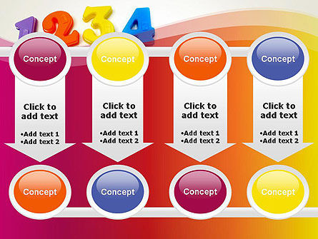 Teach Your Child Numbers PowerPoint Template Slide 18