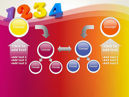 Teach Your Child Numbers PowerPoint Template Slide 19