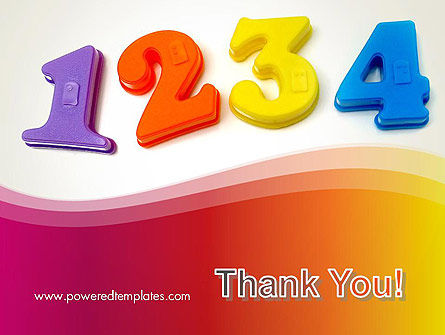 Teach Your Child Numbers PowerPoint Template Slide 20