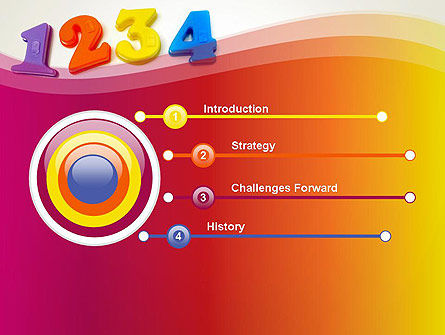 Teach Your Child Numbers PowerPoint Template Slide 3