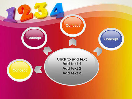 Teach Your Child Numbers PowerPoint Template Slide 7