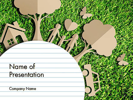 Ecosystem PowerPoint Template, 13511, Nature & Environment — PoweredTemplate.com