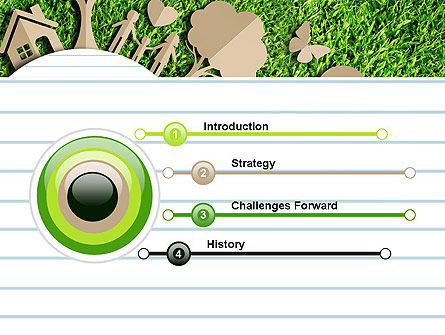 Ecosystem PowerPoint Template, Slide 3, 13511, Nature & Environment — PoweredTemplate.com