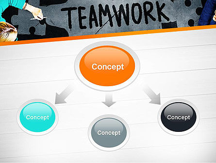 Working Together Business People PowerPoint Template Slide 4