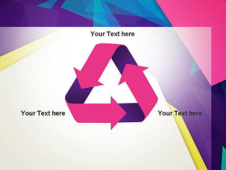 Abstract Colorful Mixed Sharp Layers PowerPoint Template Slide 10